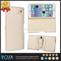 YS02 New arrival Belt Holster 100pcs Clip Leather Protective Case Cover for iphone 5s retro real leather cover for iphone 5s