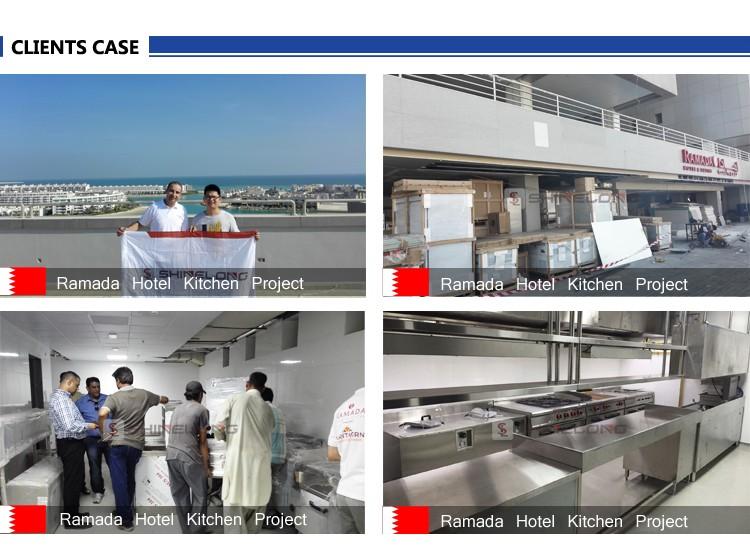 Furnotel usine industrielle ventes en acier inoxydable for Equipement de cuisine commerciale