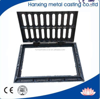 En124 B125 Road Drain Covers and Grates/Trench Drain Grating Cover/Sanitary Sewer Manhole Cover