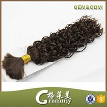 Online shopping wholesale no shedding no tangle brazilian kinky curly human hair bulk