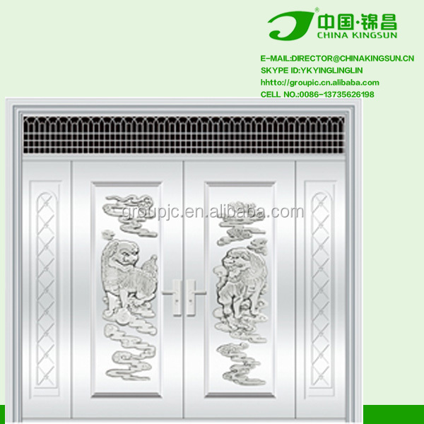 New design stainless steel used exterior doors for sale for Steel front doors for sale