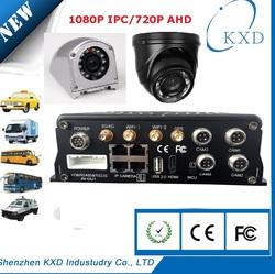 8ch H.264 mini full AHD 720P hd school bus mobile dvr