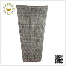 wholesale celemony grey tall plastic basket