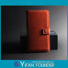 For Samsung S4 OEM Blank Leather Phone Cases Sublimation Leather Flip Cover