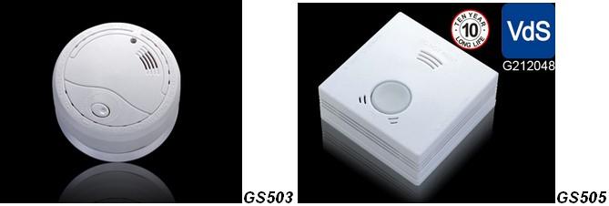 Горячая распродажа! Н . ф . пожарная сигнализация GS506 с vds, Lpcb, Bosec en14604 сертификации