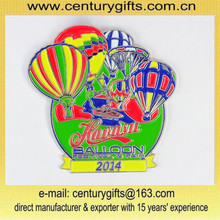 Customize cheap metal badge,soft enamel,balloon festival&fair,customized shape and size are accepted