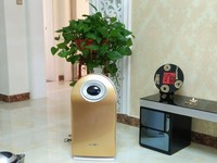 High Efficient Indoor home negative ions air cleaner with 10 million ions designed for student