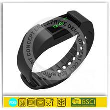 Silicone magnetic led wristband bluetooth wholesale smart bracelet watch