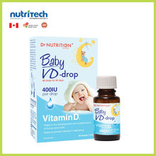 Dr Nutrition Canadian Vitamin D Drop for Infant Children Baby Supplement (GMP-Certified)
