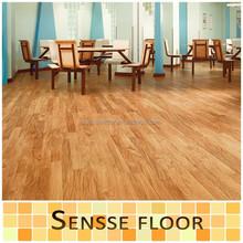 Unilin click Vinyl Floors Planks With Fiberglass/vinyl tiles/embossed surface vinyl floor