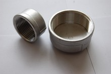 Round Female Threaded Stainless Steel Pipe End Cap