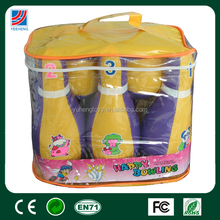 Non-toxic Sport Toys For Kids PVC stuffed with PP cotton Bowling Ball Toy