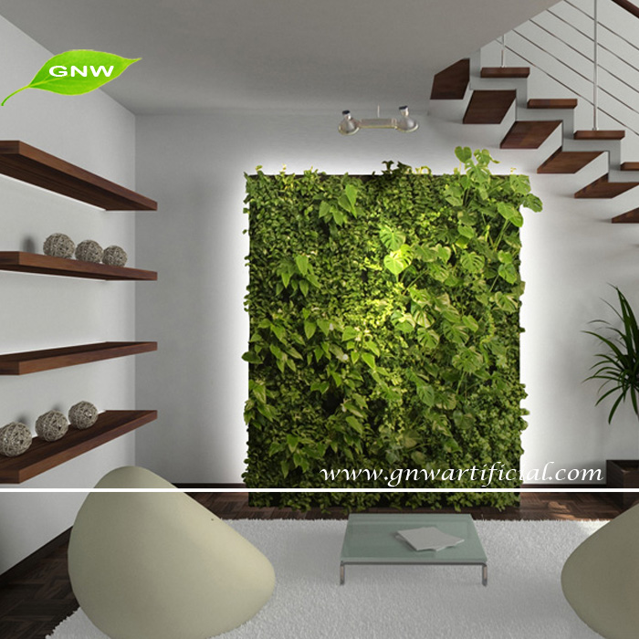 Gnw Glw087 Wholesale Green Artificial Plants For Plastic