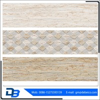 Strong and durable colorful new products ceramic wall tile shapes