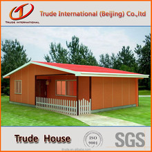 low cost steel frame prefabricated houses