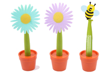Licheng BP9955 Cool Novelty Product, Soft PVC Potted Flower Pen
