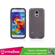 High Quality Soft TPU Case w/ Screen Protector for Samsung Galaxy S5 mini G800