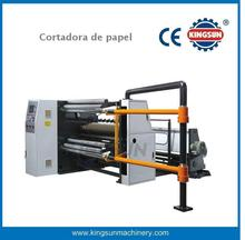 China Cortadora rebobinadora de papel de alta velocidad