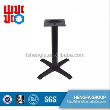 China high quality OEM antique cast iron/die cast aluminum table base TB-02