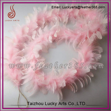 160cm pink feather boa for Christmas