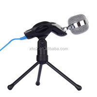 High quality SF-922 Handheld Desktop Microphone with Tripod Stand / Holder for PC / Laptop