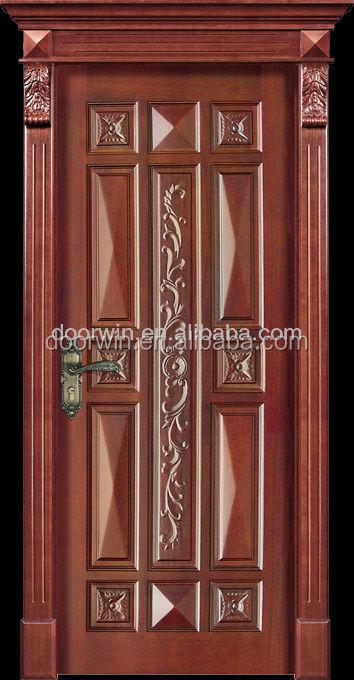 New design simple teak wood door designs for room buy for Simple wooden door designs for home