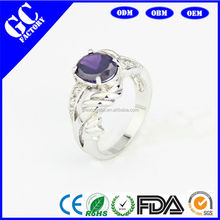 Amethyst design restoring ancient ways couples an engagement ring