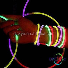 cool nightclub gift glow in the dark and full color slap bracelet glow in the dark slap bracelet