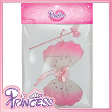 FB-016 2015 Fairy Wing for sales costume fairy wing for kids wholesale fairy wings glitter mixed color with butterfly wand sets