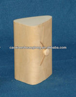2013 chinese cheap unfinished soft small wooden box with hinges for wholesale