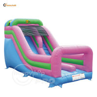 Commercial Inflatable Super Slide and Climb Combo-1003