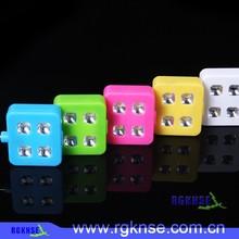 2015 new product RK06 flash led light !!! The 1st synchronous led flashlight, external mobile flashlight, mini flash light