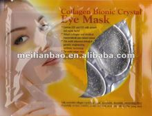 remove wrinkles and eye bags gold foil eyes mask cosmetic contract manufacturers