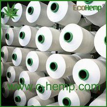 De alta calidad eco- ambiente de cáñamo hilado para tejer y hacer punto