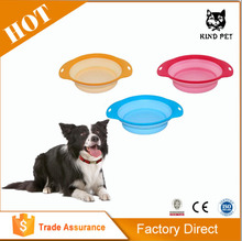 2015 new high quality plastic double pet bowl for food and water
