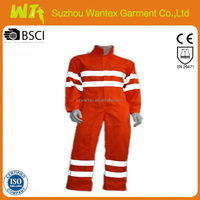 hi vis reflective safety coverall suit for worker red cotton fabric fire retardant coverall sofa set securit workwear