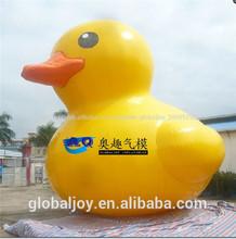 Fábrica de venta directa gigante inflable del pato/pato modelo flotando en el agua