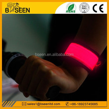 best selling slap band Glow In The Dark Wristband bracelet event