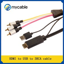 Manufacture midi to rca for DVD/HDTV