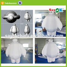 big hero 6 inflatable robot baymax mascot costume