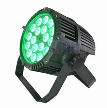 professional stage light 18 * 18W rgbwa uv led par56