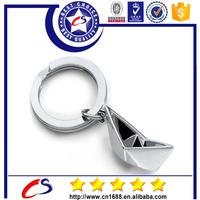 Promotional metal custom black keychains, metal key ring