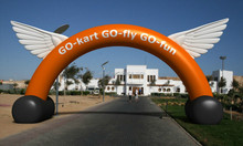 inflatable event advertising arch