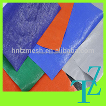 PE Tarpaulin / HDPE tarpaulin / tarpaulin canvas sheet for transportation and storage