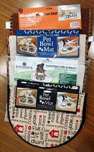 KLM-334 high quality strong insulation mat,pet bowl mat for dog cat, Pet towel