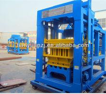Hydraulic pressure QTY6-15A automatic block production line/concrete bricks making/paving bricks/interlocking blocks making
