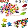 Silicone Beads BPA Free Food Grade Soft Teething Beads For Jewelry Mixed Wholesale Silicone Beads