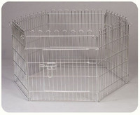 2015 Factory Direct Price Welded Wire Stainless Steel New Folding Pet Pen Dog Pen Easy To Assemble