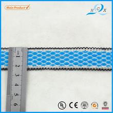 20 mm de encargo colorido cinta de encaje de punto