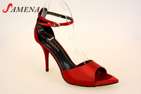Women formal high heel dressing shoes dancing shoes